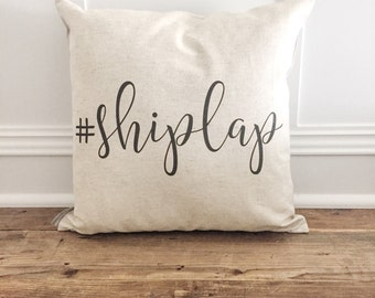 Shiplap Pillow Cover