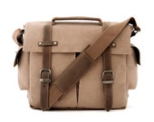 Trail Camera Bag / Messenger Bag / Tan