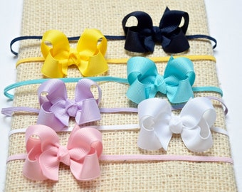 Baby Bow Headband, Baby Hair Bows, Baby Headband, Girls Headbands, Bow Headband, Newborn Headband,Baby Bows,Head Bands, Hair Bows, 200, HB