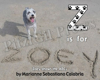 Books, Children's:  Z is for Zoey (Zoey shows the ABCs)