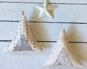 Decorative teepee pillows-set of two