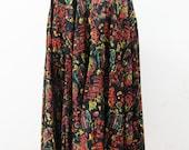 1950s Novelty Print Circle Skirt