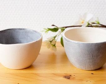 Two Tea bowls Licorice
