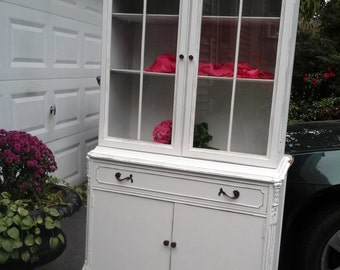 ShAbbY chic french china cupboard
