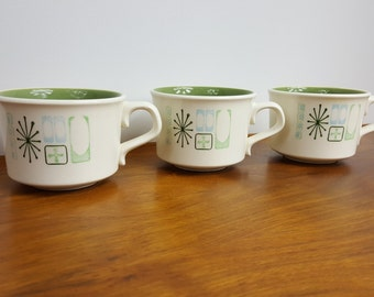 Set of 3 Taylorstone Cathay Coffee and Tea Mugs