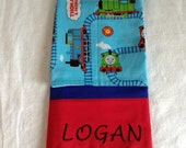 Thomas the Train Pillowcases,Personalized  pillowcases,Boy gifts, Birthday gifts, Monogrammed items,Christmas gifts.