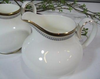 Royal Doulton Creamers, English Bone China, Royal Doulton Pavanne, Set of Two
