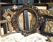 Picture Frame Set - Vintage Picture Frames - Shabby Chic Frames