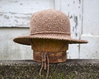 Wide Brimmed Hat   Fall felt Hats for Women   Crochet Cotton Hats   Fall Hats   Winter Hats   Womens Hats   Summer Beach Hat   Handmade