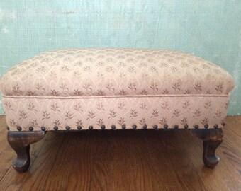 Nana Elizabeth's Upholstered Ottoman
