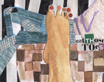 Print of Toes (2016)