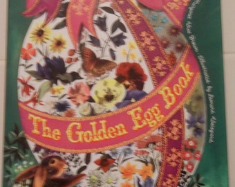 The Golden Egg Book by Margeret W. Brown (1975 Hardcover) Big Golden Book