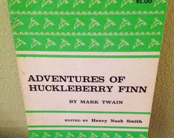 Adventures of Huckleberry Finn by Mark Twain. 1958.