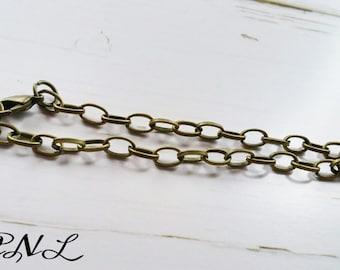 Charm Bracelets Chain Bracelets Link Bracelets Antiqued Bronze Link Chains Wholesale Bracelets Wholesale Chain SAMPLE