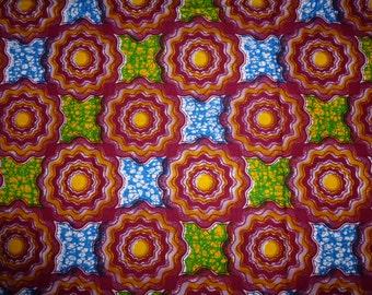Mitex Holland Wax Print Fabrics For Sewing, Fabrics For Dress Making Kitenge/Pagnes/Tissues Africain/Chitenge 162027291181
