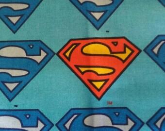 Superman bandanna bib.