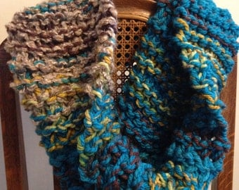 Knit Cowl-neck Scarf