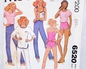 McCall's Women's Pattern 6520 -Size 10