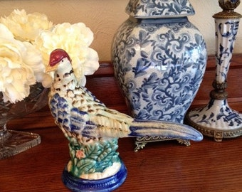 Vintage Pheasant Figurine [D]