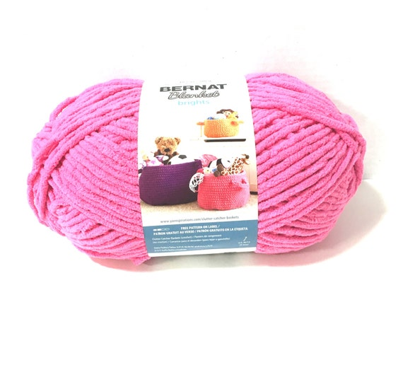 Bernat Blanket Brights Yarn Pixie Pink By Kayscrochetpatterns