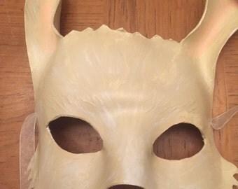 White Rabbit leather mask
