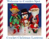 Crochet Soda Pop Bottle Christmas Lantern Patterns©