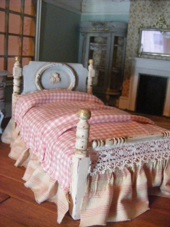 shabby chic single bed in 12th scale 50 discount