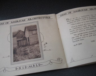 Vintage Gems of American Architecture Booklet By William Royal Greer