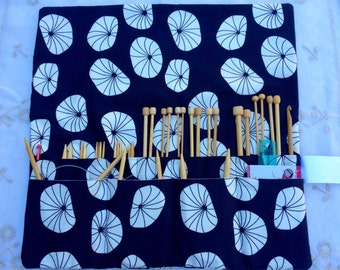 Knitting Needle Case Contemporary Design