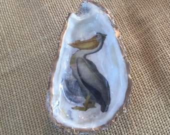 Large Pelican Oyster Dish