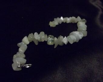 Seafoam Jade Bracelet
