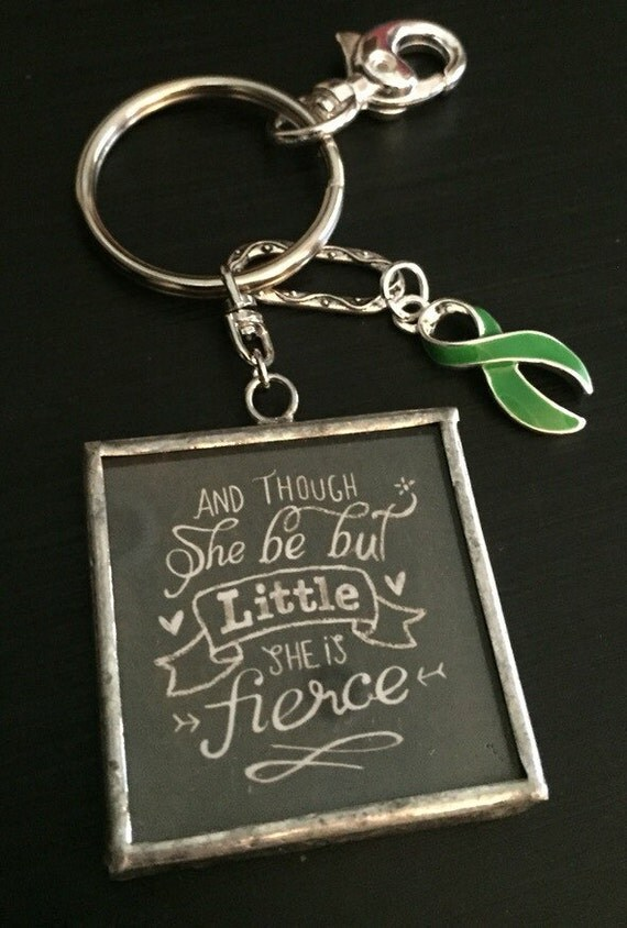 how to make a keychain out of ribbon