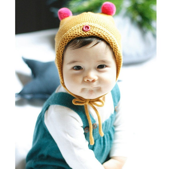 baby toddler soft knitted hat cool beanie hat by