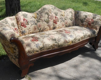 Reserved For Sarah Antique Cast Iron Chaise Lounge Hollywood