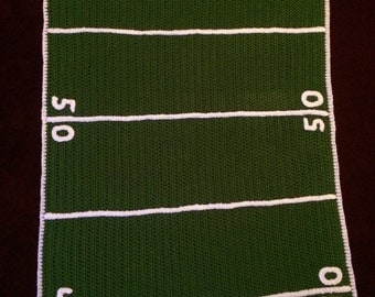 Football Field Blanket