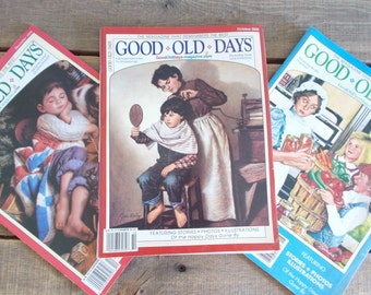 Good Old Days Magazine Lot of 62   - From the 1960s,1980s, 2000s