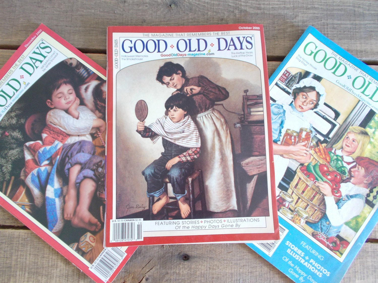 good old days magazine lot of 62 from the 1960s1980s. Black Bedroom Furniture Sets. Home Design Ideas