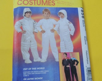 Size M Spaceman Halloween Costume McCalls 7856 Uncut