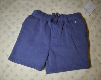A Pair of Navy Blue Shorts for a Baby Boy 6 Months by Ralph Lauren