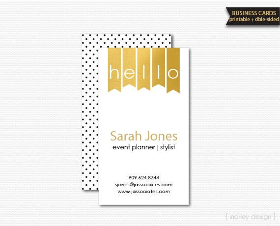 Black gold business cards printable diy stationery calling cards il570xn reheart Choice Image