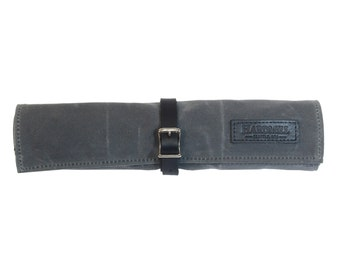 Tool Roll - Waxed Canvas - Charcoal