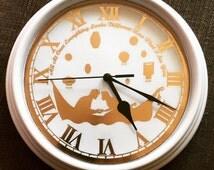 Foiled Tangled Inspired Clock