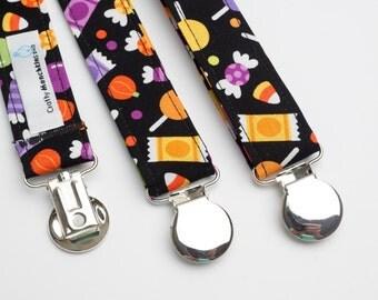 Suspenders - Halloween Treats Adjustable Suspenders