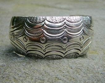 Navajo Bracelet, Native American Jewelry, Navajo Jewelry, Native American Bracelet, Silver Cuff Bracelet, Silver Cuff, Native American
