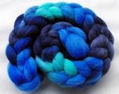 BFL Wool Roving - Handpainted Spinning Fiber -   5.3 oz.  Nr. 714