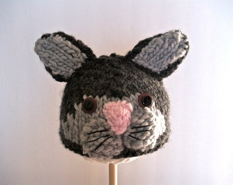 Little Kitty Knitted Hat