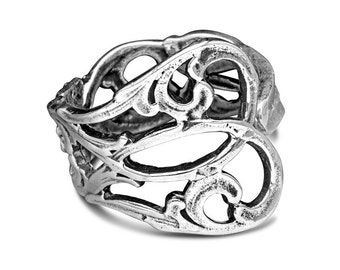 "Spoon Ring: ""Claire"" by Silver Spoon Jewelry"