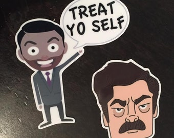 Parks and Rec Magnet Set