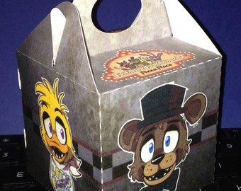 Fnaf inspired mini gable boxes (Please review size before purchase)
