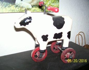 """Cow bike, 3 wheels, 6-1/2x5-1/2"""""""